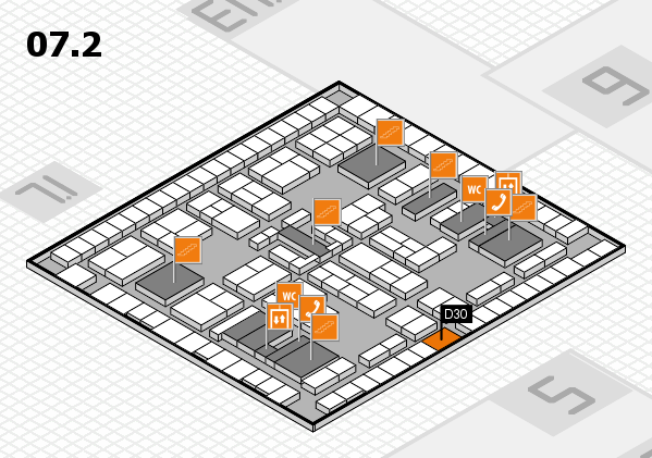 K 2016 Hallenplan (Halle 7, Ebene 2): Stand D30