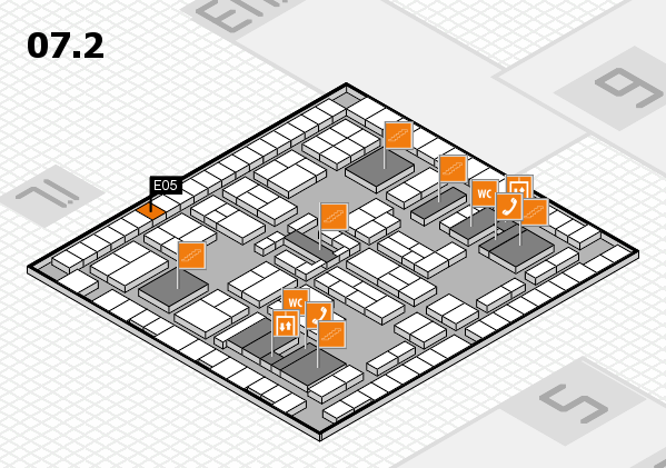 K 2016 Hallenplan (Halle 7, Ebene 2): Stand E05