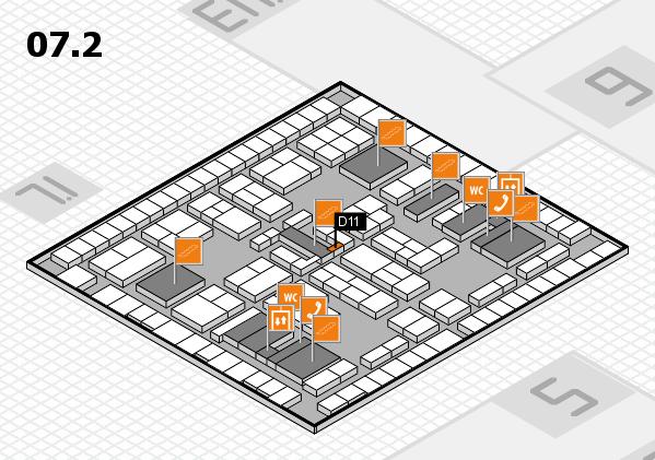 K 2016 Hallenplan (Halle 7, Ebene 2): Stand D11