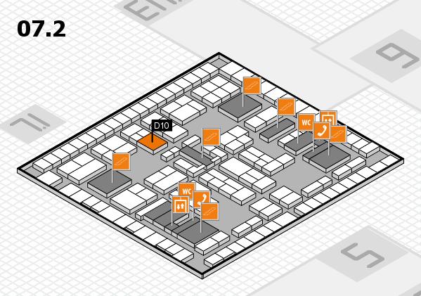 K 2016 Hallenplan (Halle 7, Ebene 2): Stand D10