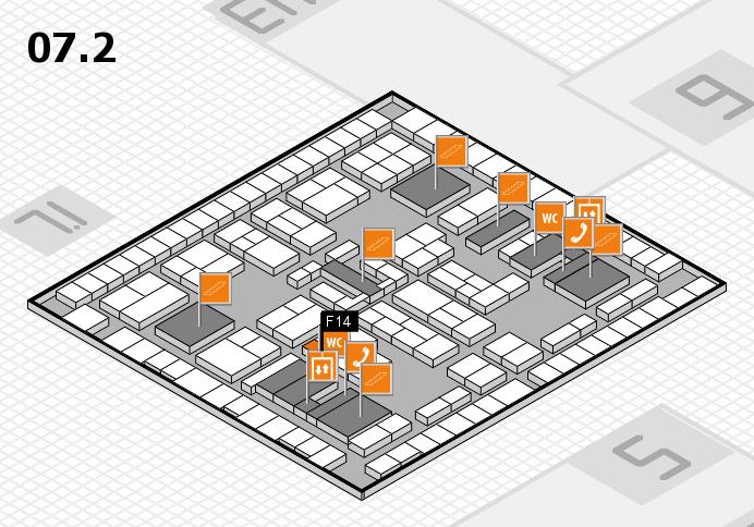 K 2016 Hallenplan (Halle 7, Ebene 2): Stand F14