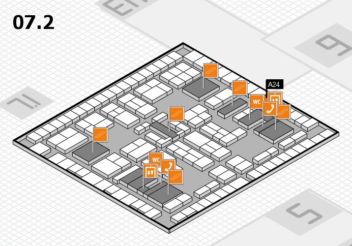 K 2016 Hallenplan (Halle 7, Ebene 2): Stand A24