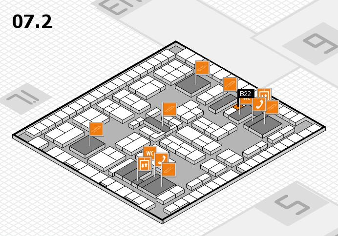 K 2016 Hallenplan (Halle 7, Ebene 2): Stand B22