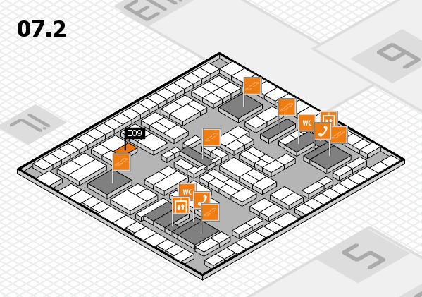 K 2016 Hallenplan (Halle 7, Ebene 2): Stand E09