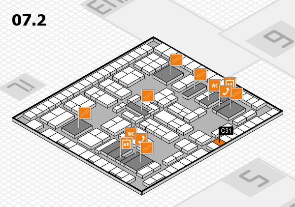 K 2016 Hallenplan (Halle 7, Ebene 2): Stand C31