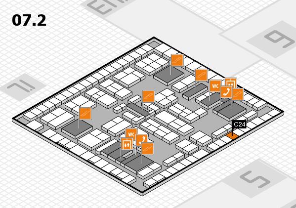 K 2016 Hallenplan (Halle 7, Ebene 2): Stand C24