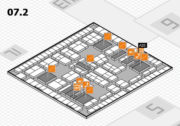 K 2016 Hallenplan (Halle 7, Ebene 2): Stand A26