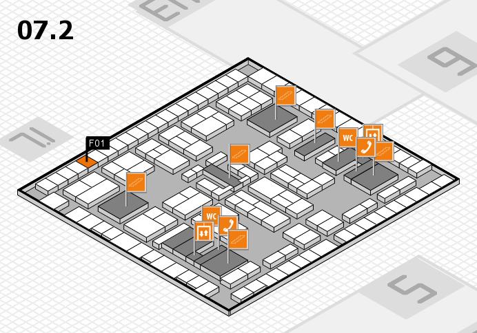K 2016 Hallenplan (Halle 7, Ebene 2): Stand F01