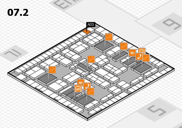 K 2016 Hallenplan (Halle 7, Ebene 2): Stand A03