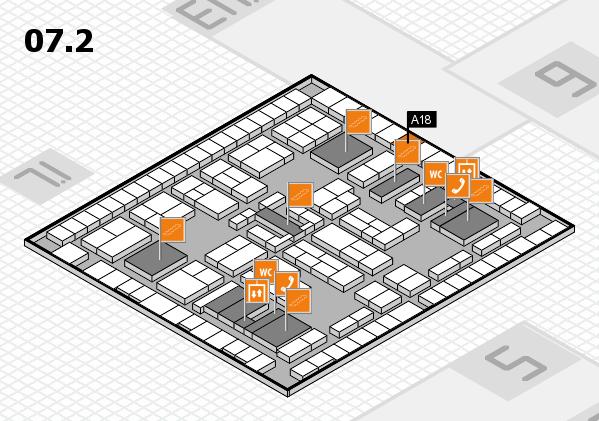 K 2016 Hallenplan (Halle 7, Ebene 2): Stand A18