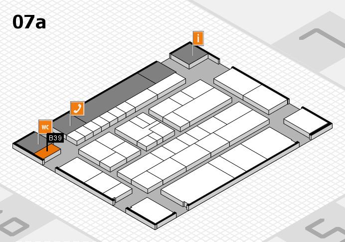 K 2016 hall map (Hall 7a): stand B39