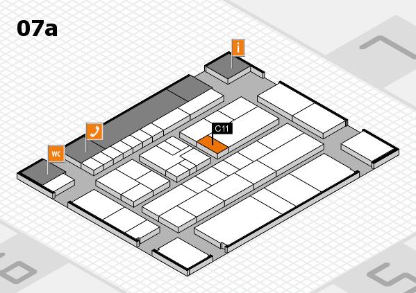 K 2016 Hallenplan (Halle 7a): Stand C11
