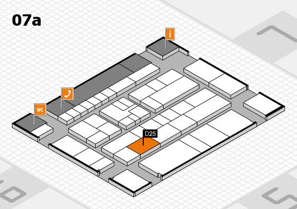 K 2016 Hallenplan (Halle 7a): Stand D25