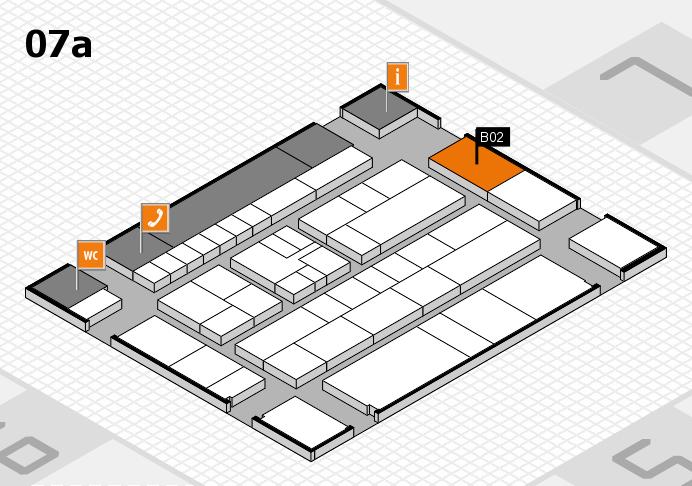 K 2016 hall map (Hall 7a): stand B02