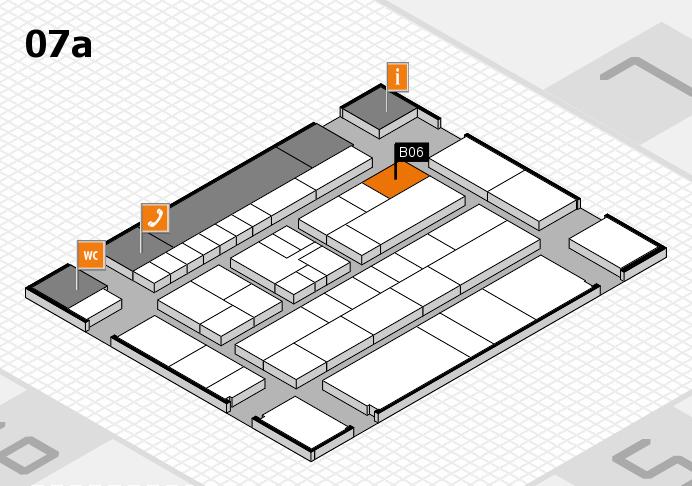 K 2016 hall map (Hall 7a): stand B06