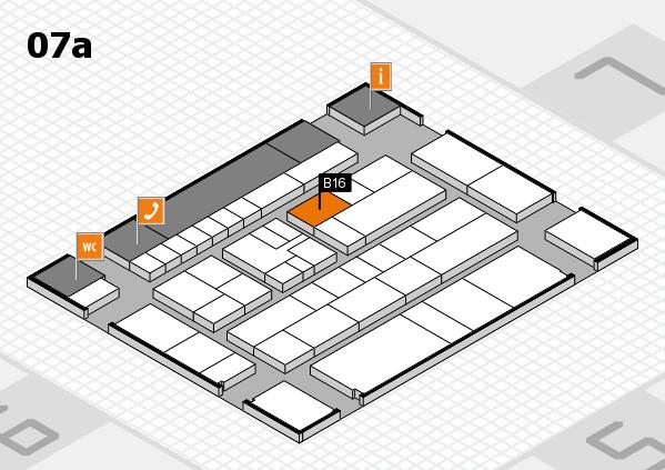 K 2016 Hallenplan (Halle 7a): Stand B16