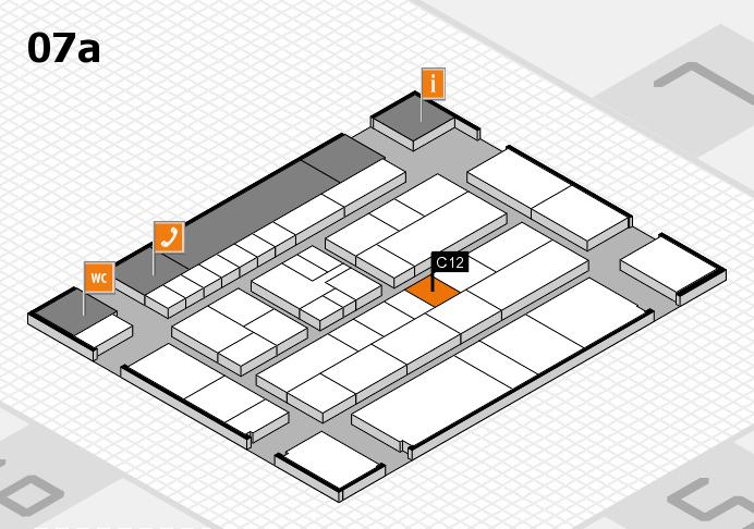 K 2016 Hallenplan (Halle 7a): Stand C12