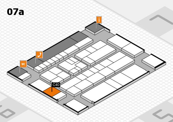 K 2016 Hallenplan (Halle 7a): Stand C40