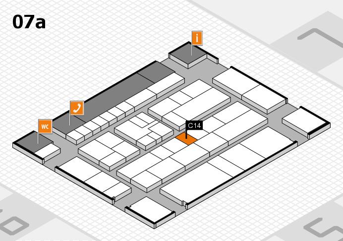 K 2016 Hallenplan (Halle 7a): Stand C14