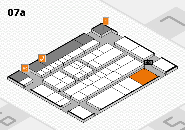 K 2016 hall map (Hall 7a): stand D06