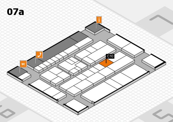 K 2016 hall map (Hall 7a): stand C10