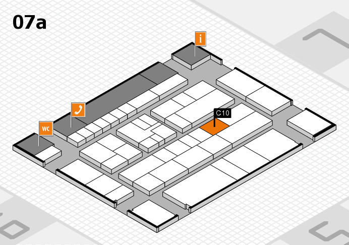 K 2016 Hallenplan (Halle 7a): Stand C10