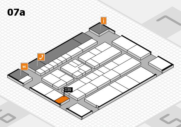 K 2016 Hallenplan (Halle 7a): Stand D39