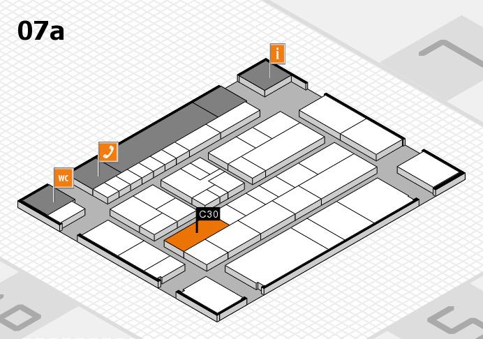 K 2016 hall map (Hall 7a): stand C30
