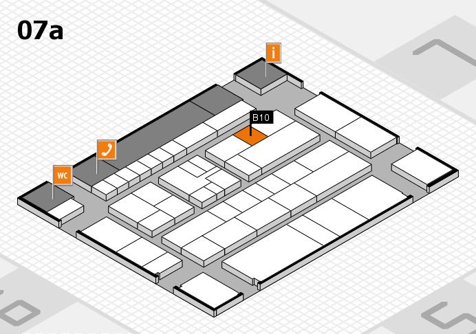 K 2016 hall map (Hall 7a): stand B10