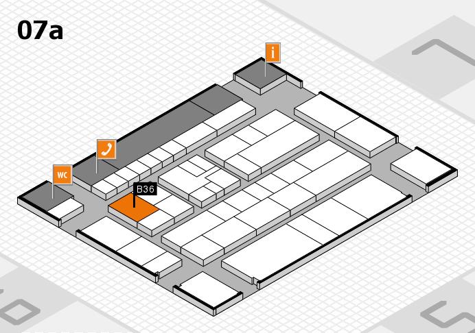 K 2016 Hallenplan (Halle 7a): Stand B36