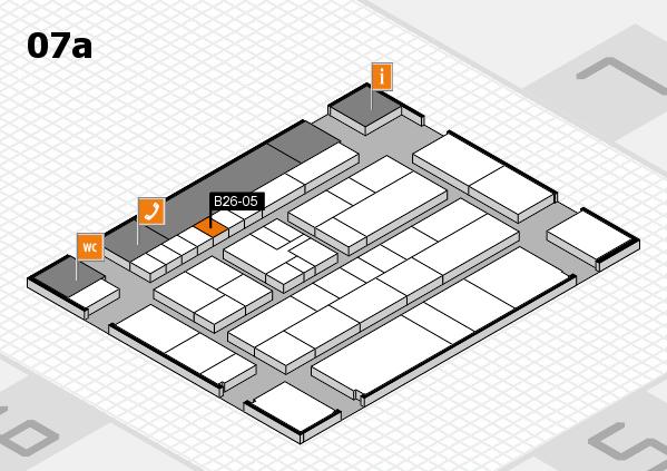 K 2016 hall map (Hall 7a): stand B26-05