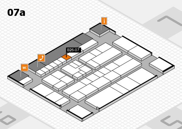 K 2016 hall map (Hall 7a): stand B26-07