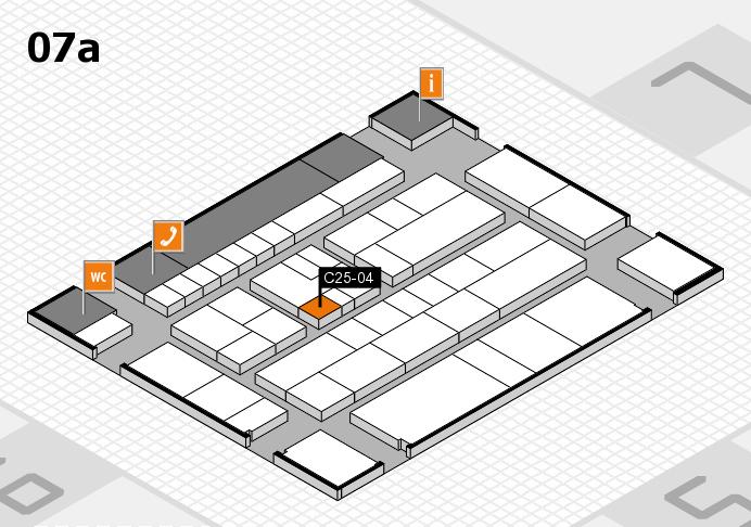 K 2016 hall map (Hall 7a): stand C25-04