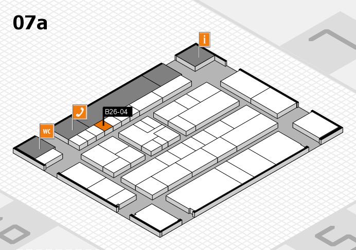 K 2016 hall map (Hall 7a): stand B26-04