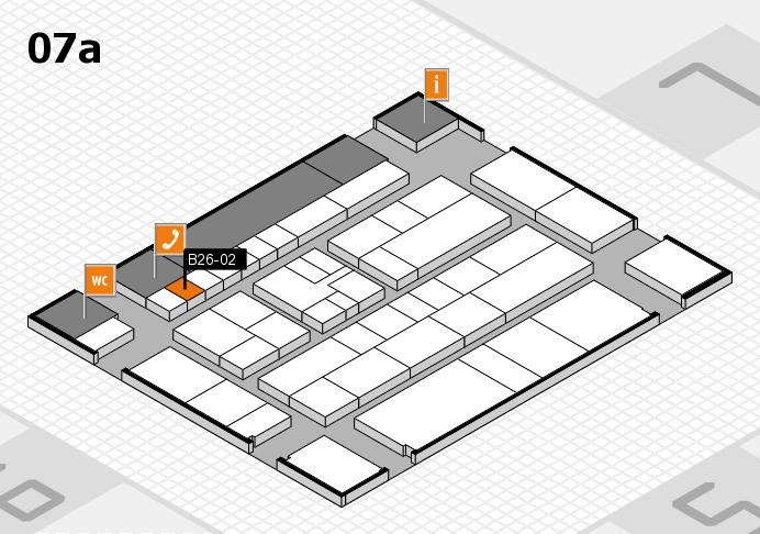K 2016 hall map (Hall 7a): stand B26-02