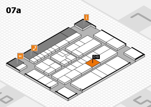 K 2016 Hallenplan (Halle 7a): Stand D19