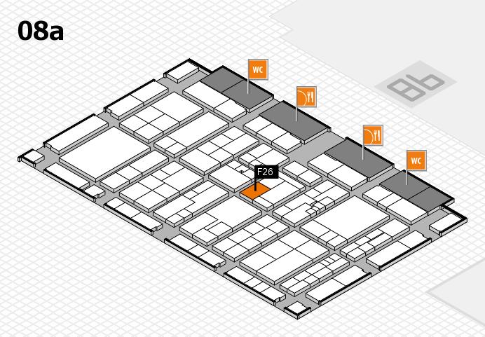 K 2016 Hallenplan (Halle 8a): Stand F26