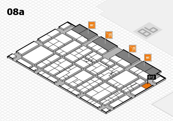 K 2016 Hallenplan (Halle 8a): Stand B12