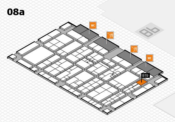 K 2016 Hallenplan (Halle 8a): Stand B19