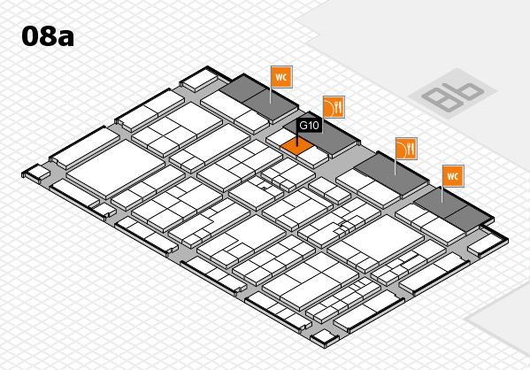 K 2016 Hallenplan (Halle 8a): Stand G10