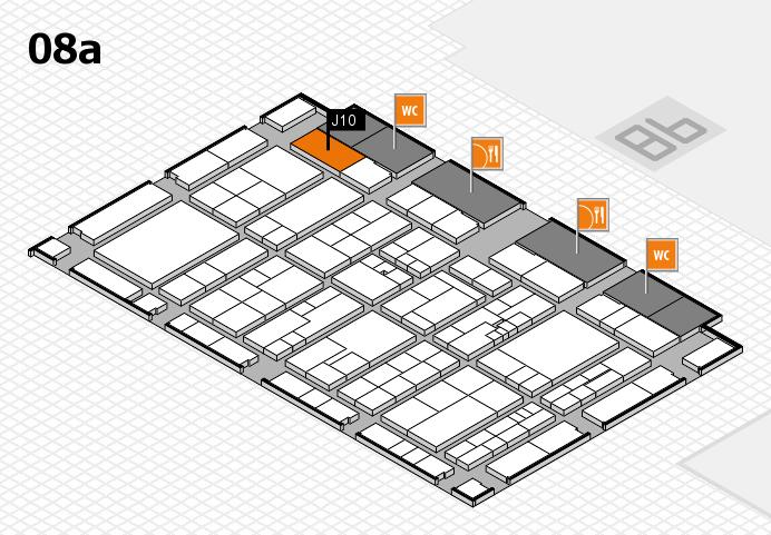 K 2016 Hallenplan (Halle 8a): Stand J10