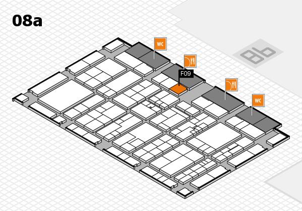 K 2016 Hallenplan (Halle 8a): Stand F09