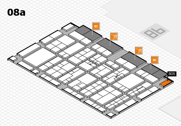 K 2016 Hallenplan (Halle 8a): Stand B05