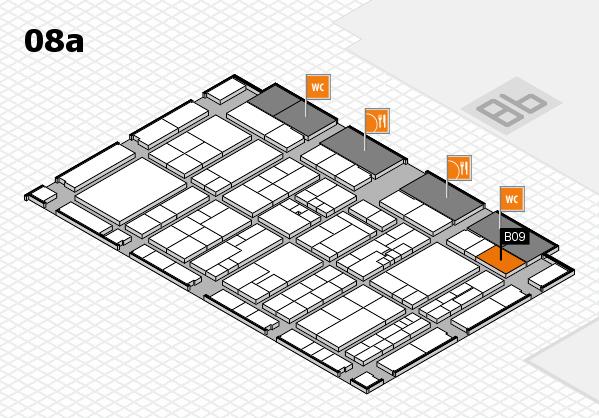 K 2016 hall map (Hall 8a): stand B09