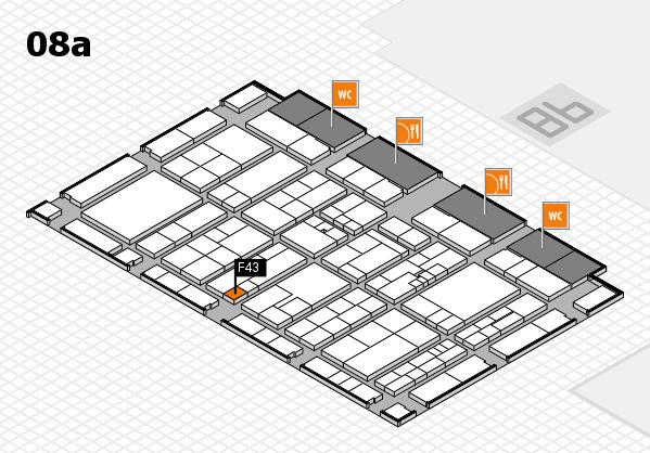 K 2016 Hallenplan (Halle 8a): Stand F43