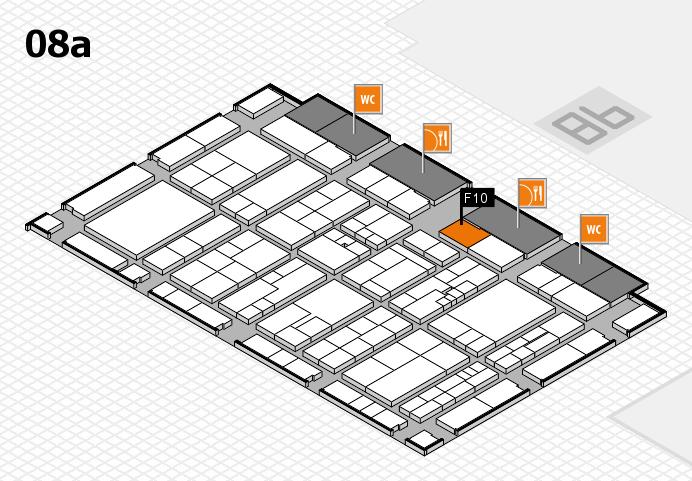 K 2016 hall map (Hall 8a): stand F10