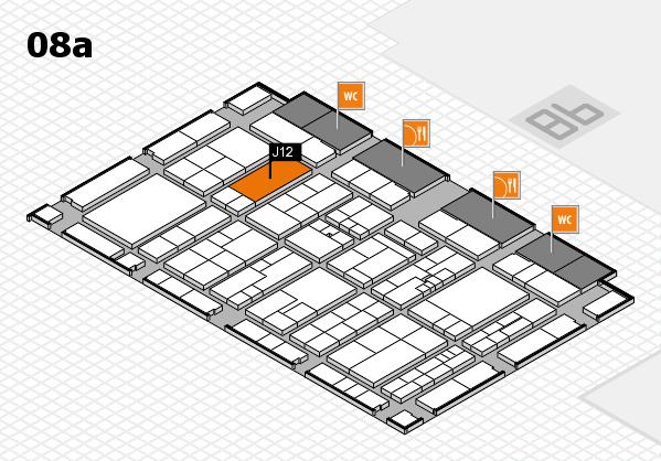 K 2016 Hallenplan (Halle 8a): Stand J12