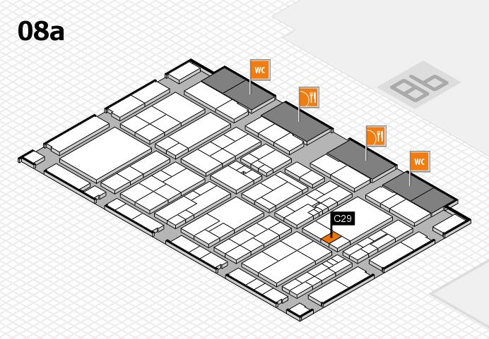 K 2016 hall map (Hall 8a): stand C29