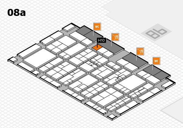 K 2016 Hallenplan (Halle 8a): Stand H10