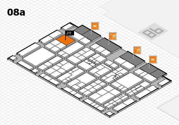 K 2016 Hallenplan (Halle 8a): Stand J11
